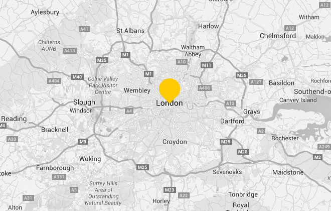 Residential house moves in and around London